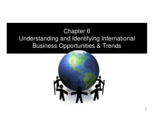 Chapter  6 Understanding and Identifying International Business Opportunities & Trends
