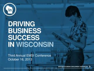 Driving business success in  wisconsin