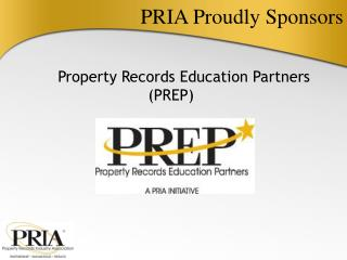 PRIA Proudly Sponsors