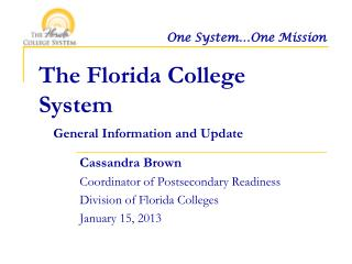 The Florida College System