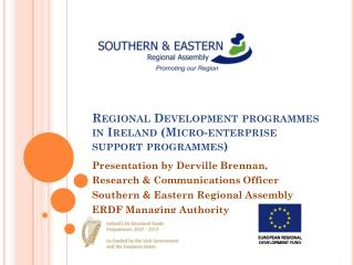 Regional Development programmes in Ireland (Micro-enterprise support programmes)