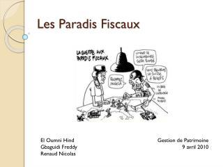 Les Paradis Fiscaux