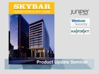 Product Update Seminar