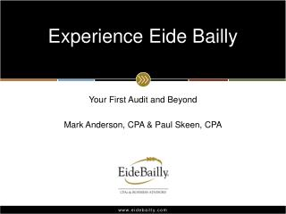 Experience Eide Bailly
