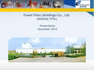 Presentation December 2012
