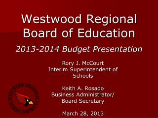 Westwood Regional  Board of Education