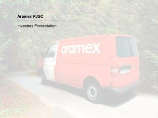 Aramex PJSC Investors Presentation
