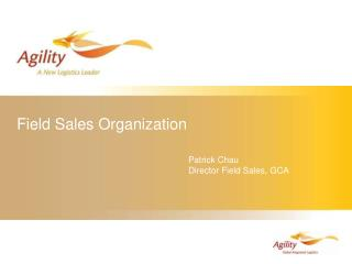 Field Sales Organization