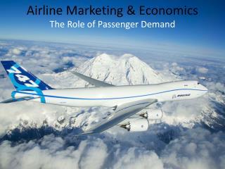 Airline Marketing & Economics