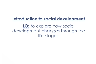Social Skills Development  in Early Childhood  Enabling Learning, Growing Friends