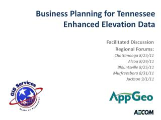 Business Planning for Tennessee Enhanced Elevation Data
