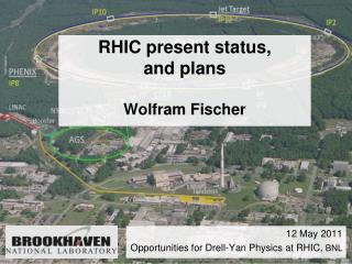 RHIC present status,  and plans Wolfram Fischer