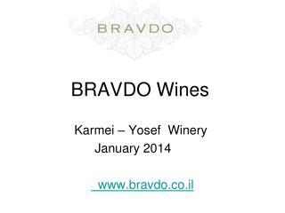 BRAVDO  Wines
