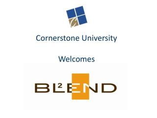 Cornerstone University Welcomes
