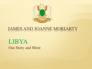 James and JoAnne Moriarty