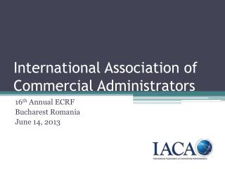 International Association of Commercial Administrators