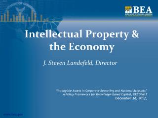 Intellectual Property & the Economy