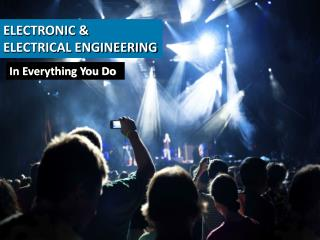ELECTRONIC & ELECTRICAL ENGINEERING