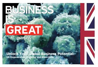 Unlock Your Global Business Potential: UK Regenerative Medicine and Stem Cells