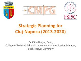Strategic Planning for  Cluj-Napoca (2013-2020)