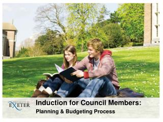 Induction for Council Members:  Planning & Budgeting Process