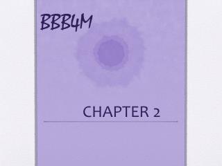 BBB4M