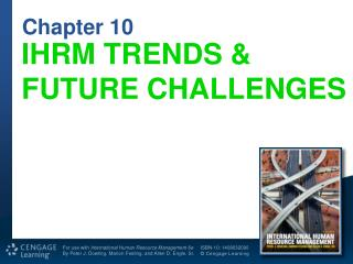 IHRM TRENDS & FUTURE CHALLENGES