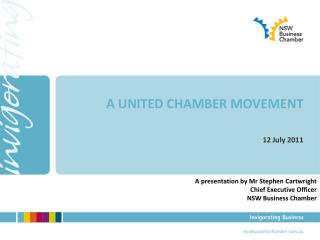 A UNITED CHAMBER MOVEMENT