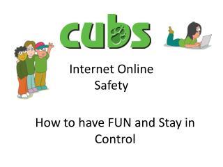 Internet Online Safety