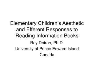Elementary Children