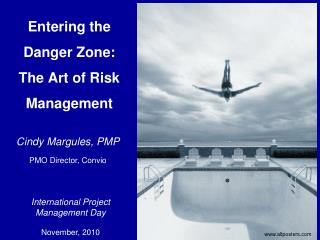 Entering the Danger Zone:  The Art of Risk Management