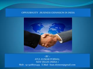 -:BY :- ATUL KUMAR PORWAL  NEW DELHI (INDIA ) Mob .-91-9268170493    E.Mail  –heat.element@gmail.com