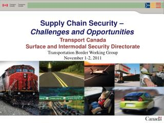 Supply Chain Security –  Challenges and Opportunities