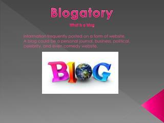 Blogatory