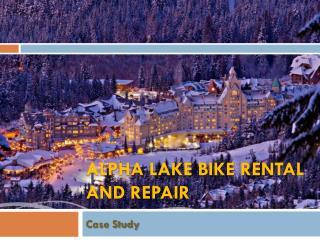 Alpha Lake Bike Rental and Repair