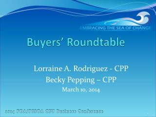 Buyers' Roundtable