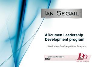 ADcumen Leadership Development program