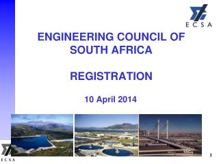 ENGINEERING COUNCIL OF  SOUTH AFRICA REGISTRATION