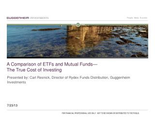A Comparison of ETFs and Mutual Funds— The True Cost of Investing