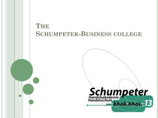 The  Schumpeter-Business college