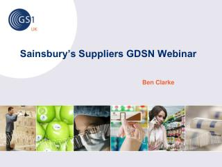 Sainsbury's Suppliers GDSN Webinar