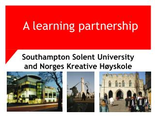 A learning partnership