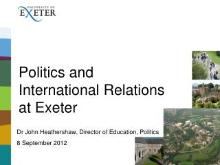 Politics and International Relations at Exeter