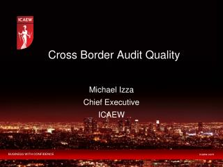 Cross Border Audit Quality