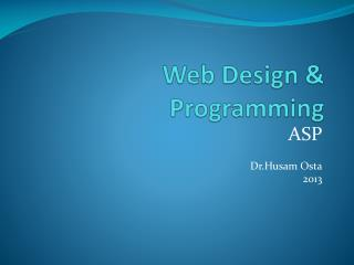 Web Design & Programming
