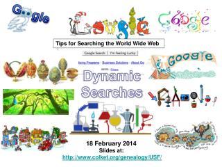 Dynamic Searches