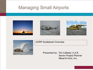 Managing Small Airports
