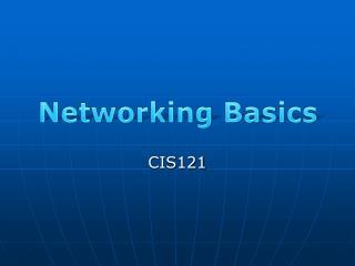 CIS121