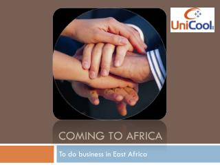 Coming  to  africa