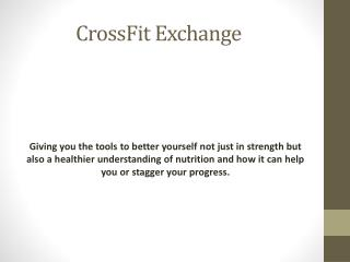 CrossFit Exchange